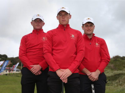 Inter Services Golf at Saunton Sands, N Devon.